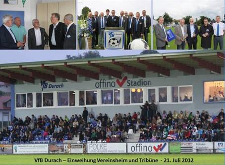2012: Eröffnung Offino-Stadion