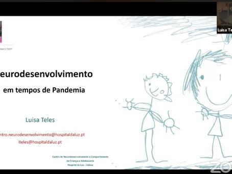 Neurodesenvolvimento em tempos de pandemia - Dra. Luísa Teles