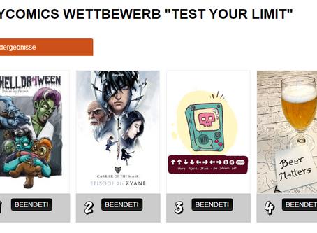 2nd Place myComics.de Contest