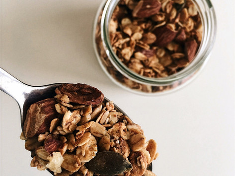 Nutty Maple Granola Recipe