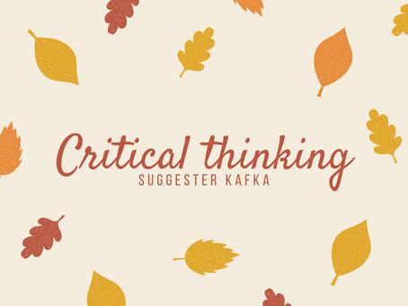 1.批判的思考に対する考察