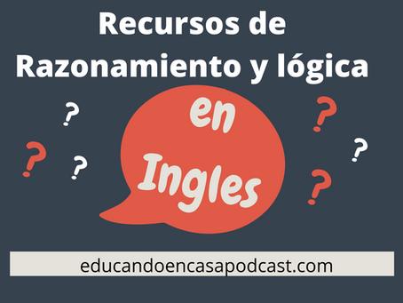 Recursos de Razonamiento y lógica en Inglés