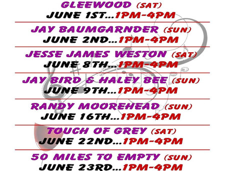 MUSIC ON THE DECK-JUNE