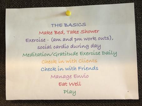 My Daily Basics, Sort Of