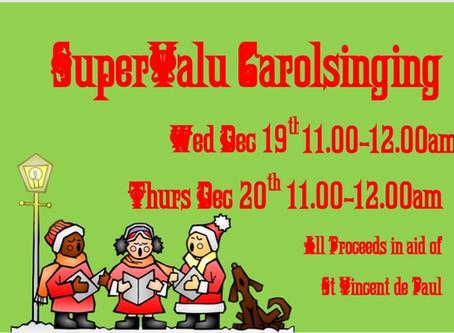 Carol Singing in Supervalu