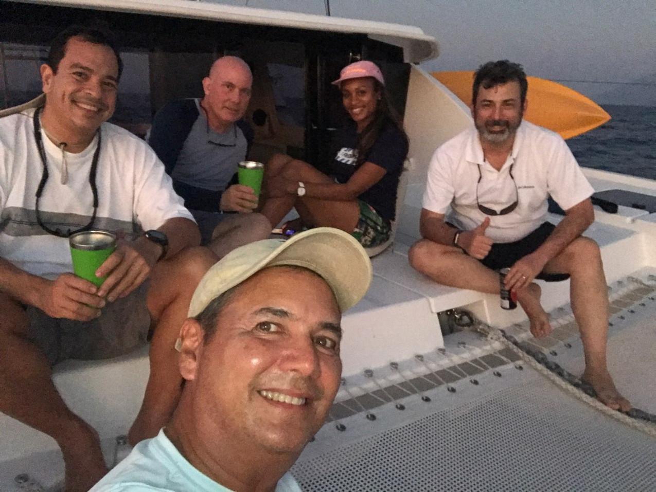 Team Cariño with skipper Monchu Garcia
