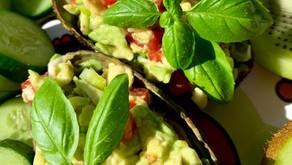 5-minute Guacamole Snack