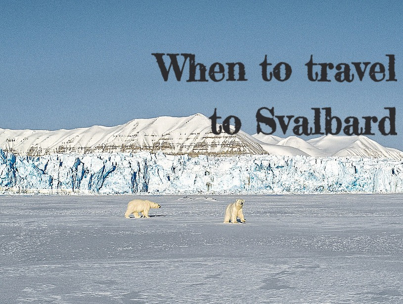Month-to-month description of the activities of Svalbard