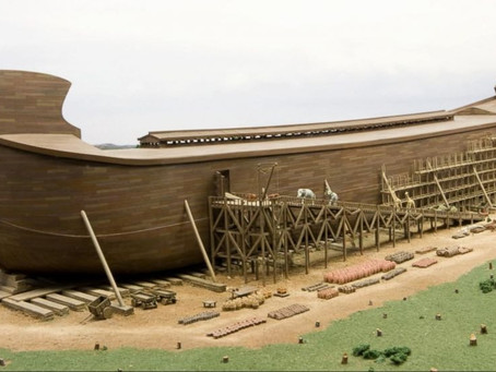 High-tech virtual reality experience which takes visitors back to the the time of Noah's Ark...