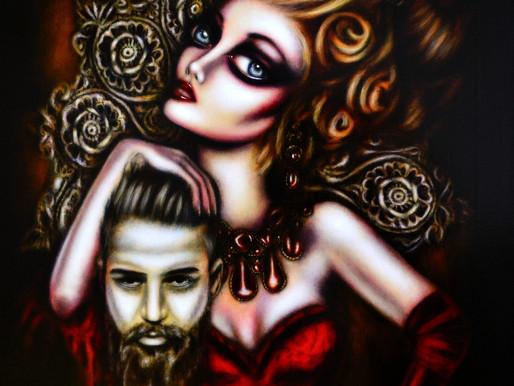 Triumph of Princess Salome Painting by Tiago Azevedo