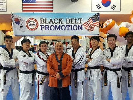 Congratulations To All The Black Belt Candidates!