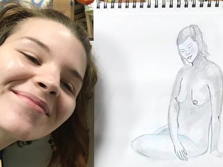 Mes élèves sont Formidables - dessin avec modèle du lundi 12/ 10 / 2020 .
