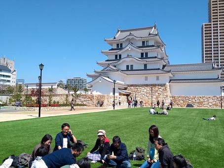 【尼崎城お絵かきワークショップ開催レポート(4/13)】