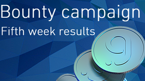 BOUNTY Campaign - Fifth week results!