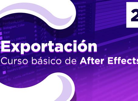 Exportar un video de After Effects - 24