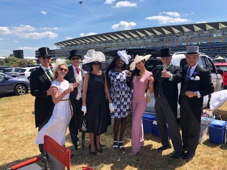Oakmount and Partners Ltd. Time With Clients, Those Memorable Moments. Royal Ascot 2018.
