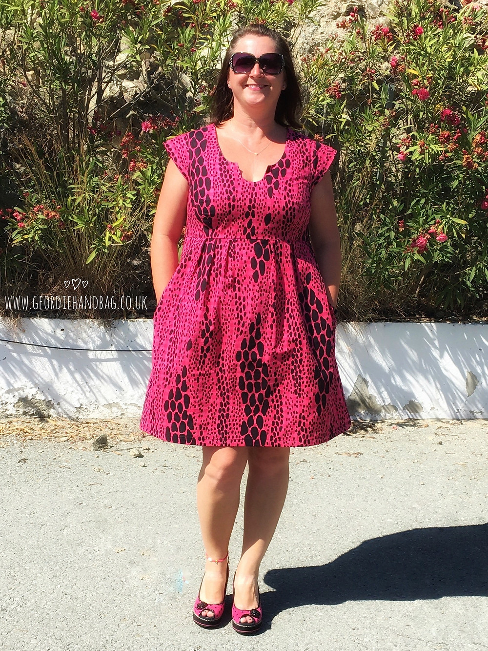 Trillium Dress, formally Washi, pdf pattern Made by Rae