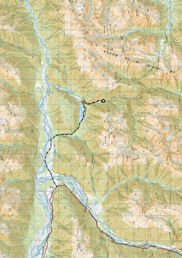 Otehake Map