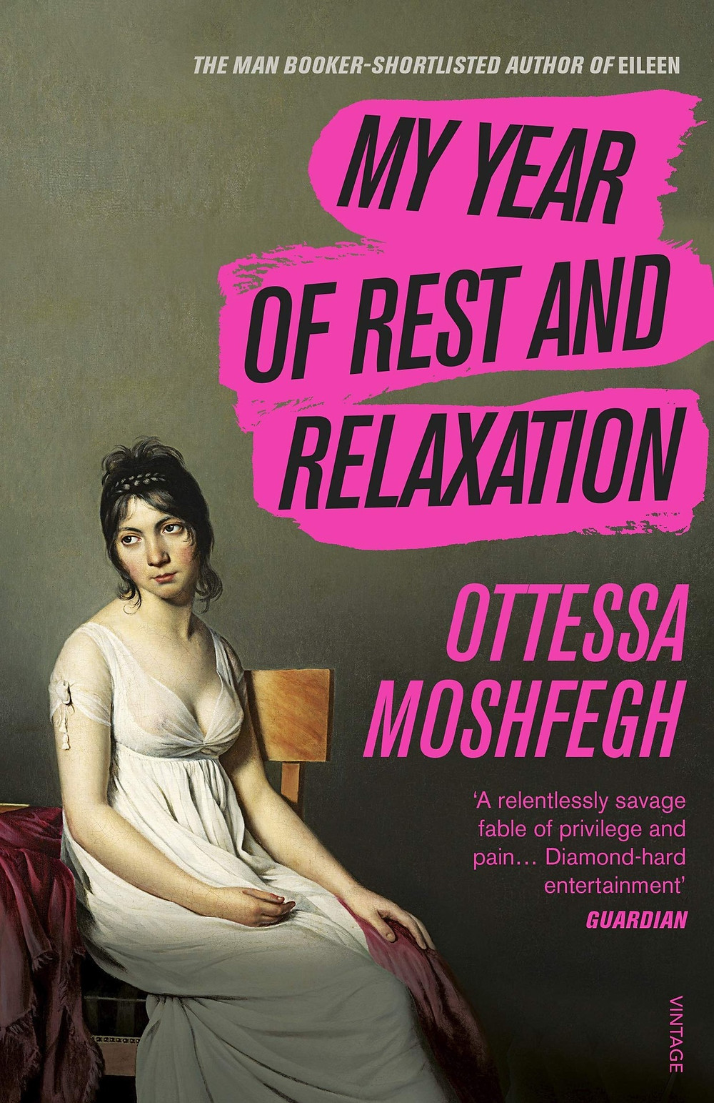 My Year of Rest and Relaxation by Ottessa Moshfegh thebookslut book reviews the bookslut