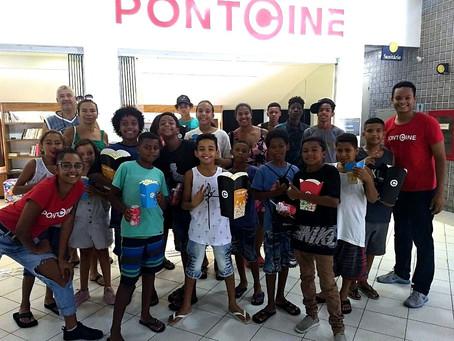 IFRJ e Ponto Solidário realizam sessões comunitárias de Férias no Ponto Cine
