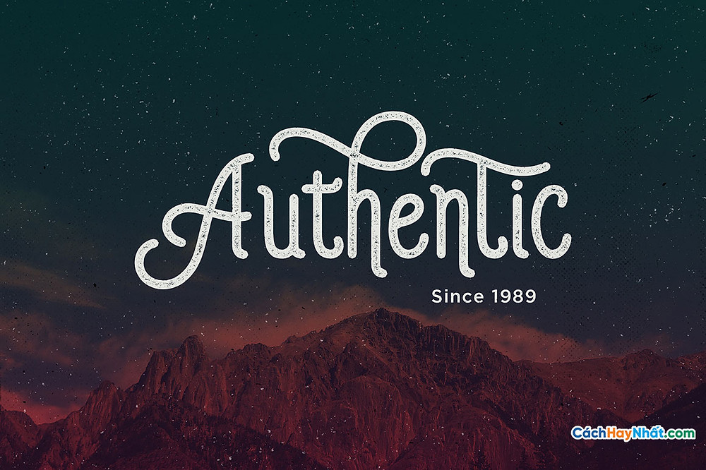 Free Font iCiel Auther