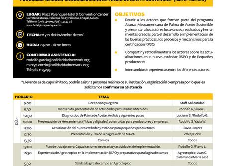 First Partners Meeting MAPA-México
