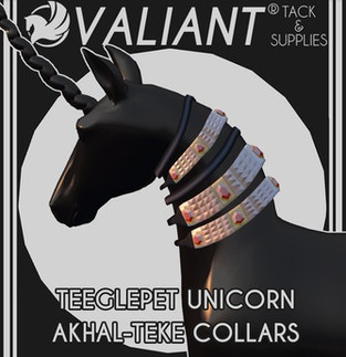 VALIANT - Akhal-Teke Collars (Unicorn)