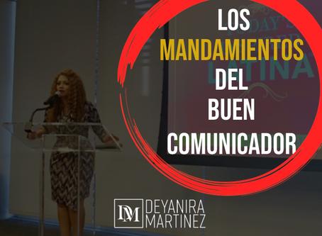 LOS MANDAMIENTOS DEL BUEN COMUNICADOR