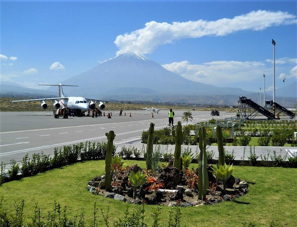 El Misti From Arequipa Airport, Peru ©MDHarding