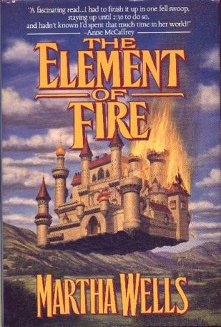 book cover shows a castle floating in the air