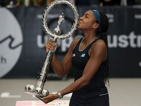 GAUFF (USA) WINS 1ST TITLE IN LINZ