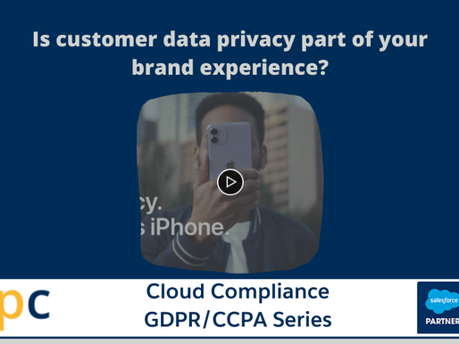 Is customer data privacy part of your brand experience?