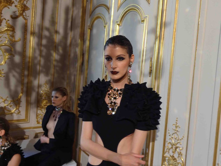 Sakis Isaakidis for Baroqcojewelry @ Paris Fashion Week