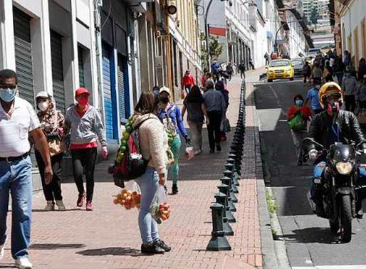 Se registran 180 contagios de covid19 diarios en Quito