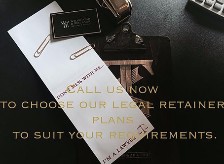 Monthly Retainer Legal Service