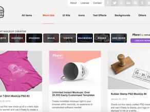 Sitios de Mockups gratuitos para Diseñadores Gráficos