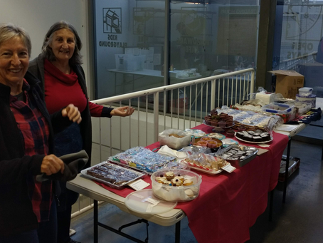 Thank you to our fundraising volunteers
