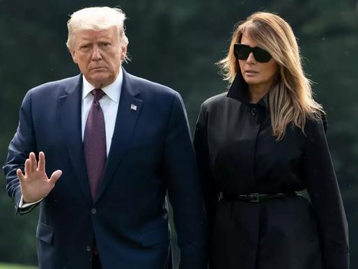 Donald Trump y su esposa dan positivo a coronavirus