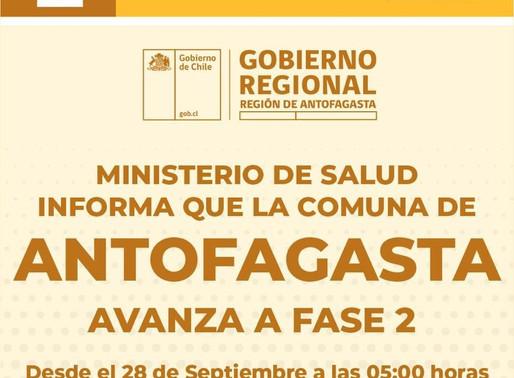 ANTOFAGASTA Y MEJILLONES A FASE 2, TODO LO QUE DEBES SABER