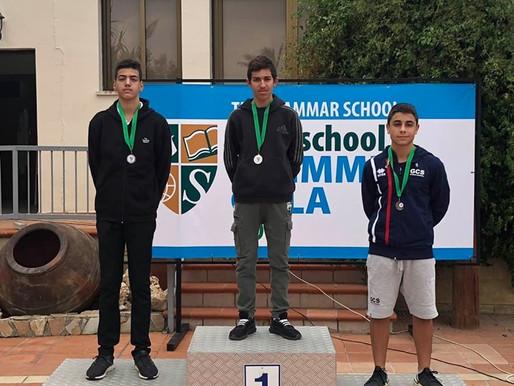 Διπλή διάκριση στην κολύμβηση για τον μαθητή του Κολεγίου Τέρρα Σάντα