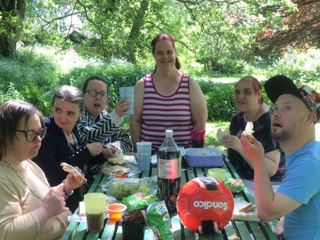 Picnic in the local park