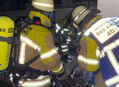 Kleinbrand in der Rosenheimer Straße