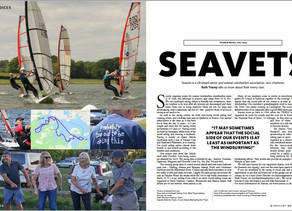 Seavets in Windsurf Magazine.