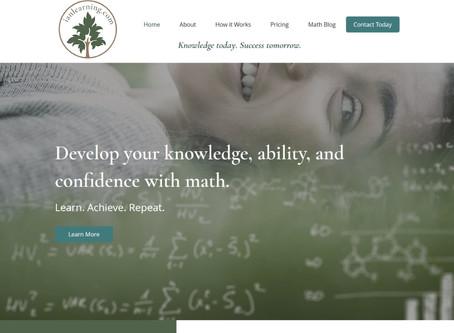 New Website Design: IanLearning