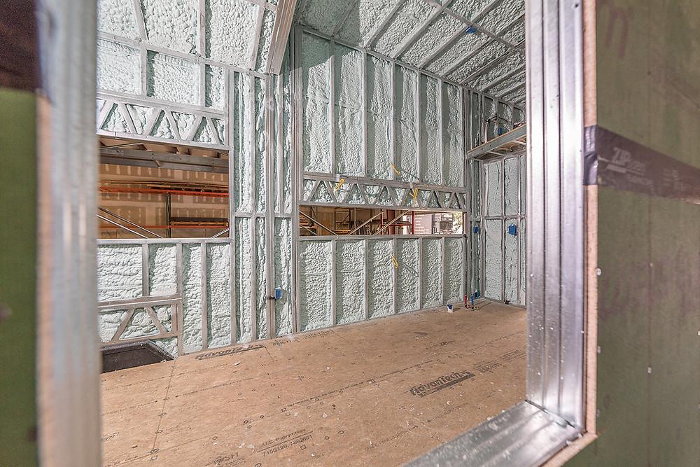 Spray Foamed Tiny Home