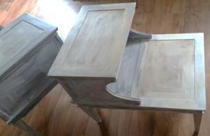 Primed side tables