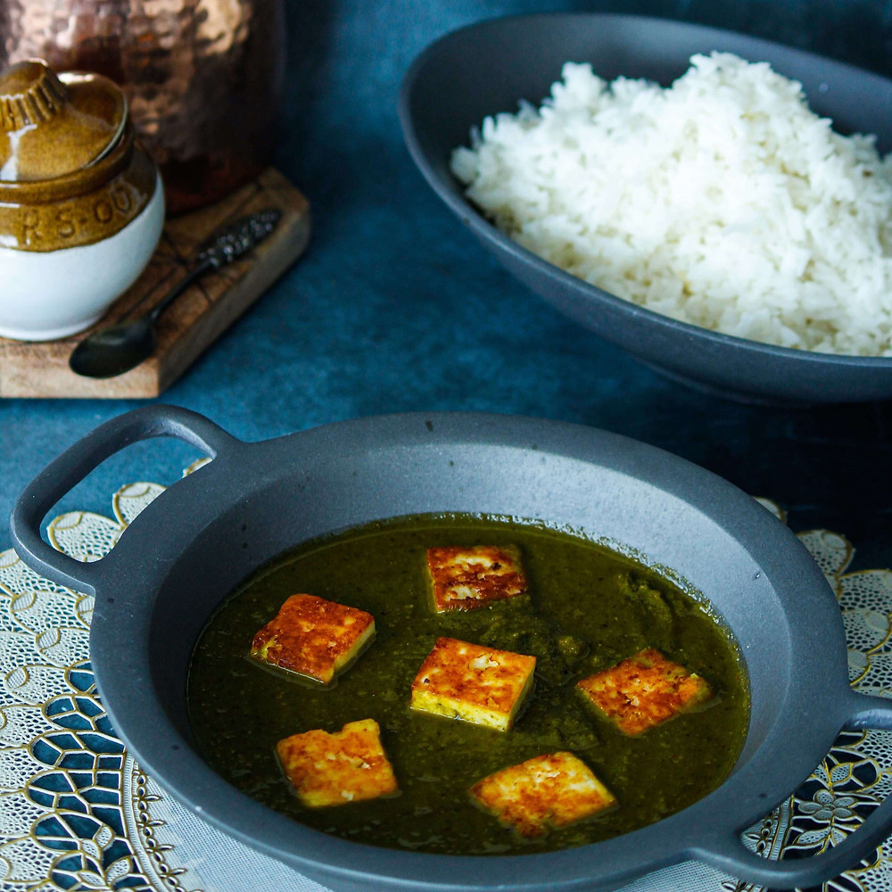 Extra virgin olive oil pairs well with Indian Cooking