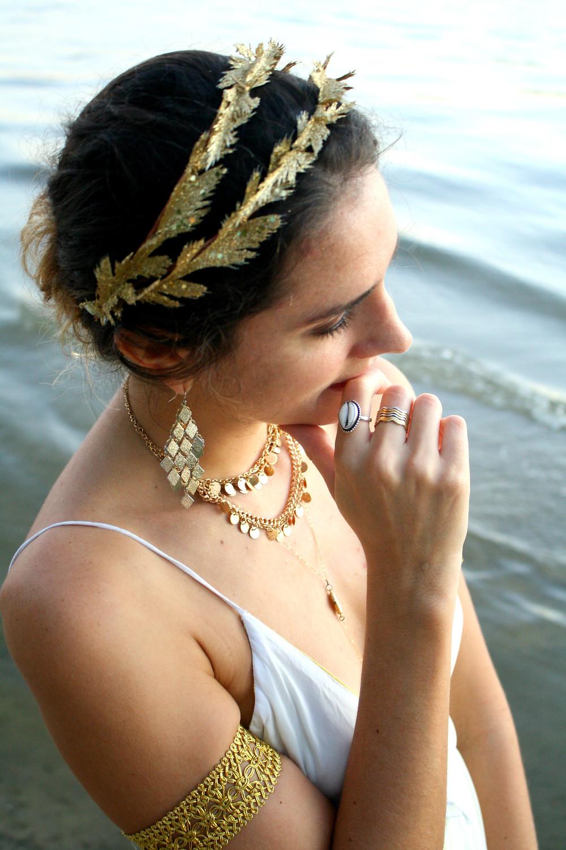 Echoing Waters Greek Goddess Costume
