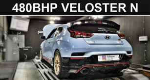 480BHP Veloster N 2.0T - The Most Powerful N in the World