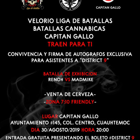 """RENOH vs MADMIKE""   Batallas Cannabicas   Radio Pacheco"